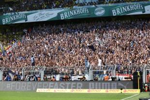 Auch Gästefans wie die Berliner am letzten Spieltag sollen sich wohl fühlen