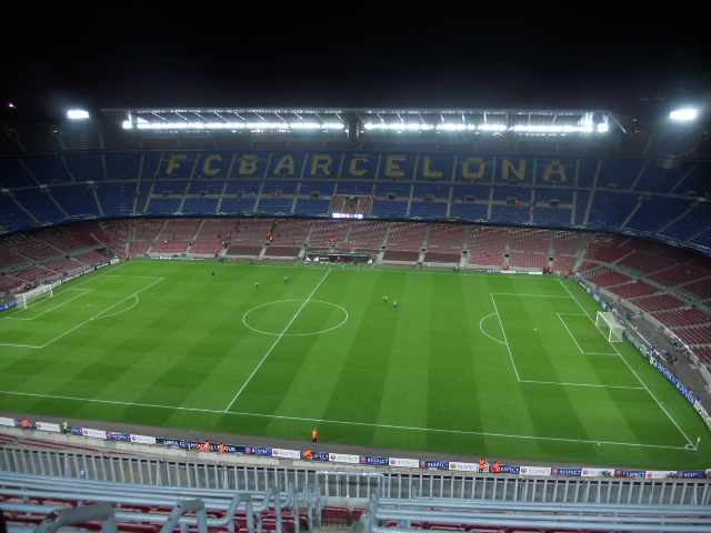 Das Camp Nou in Barcelona