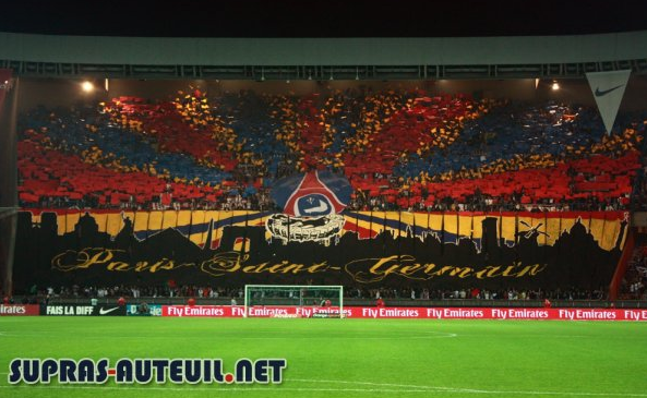 Something you won't see any more in Paris (PSG-Lyon, late 2000's)