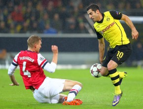 Miki against Arsenal