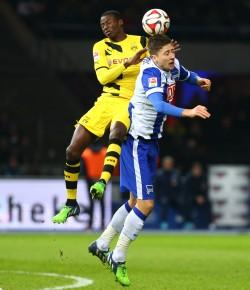 Adsrian Ramos kam zur Halbzeit neu ins Team