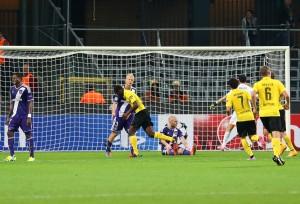 Adrian Ramos erzielte das 3-0