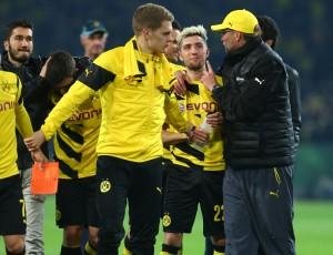 Jürgen Klopp zeigte sich nach dem Spiel erleichtert