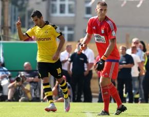 Henrikh Mkhitaryan sorgte für das beruhigende 2-0