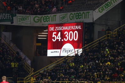 54.300 - so die offizielle Zuschauerzahl