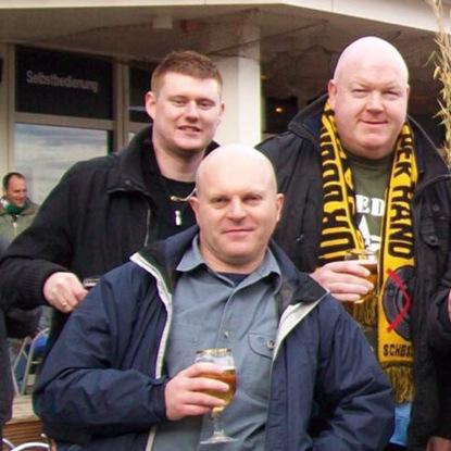 Kurz nach dem Derby 2007 besuchte uns unter anderem Nigel in Hannover