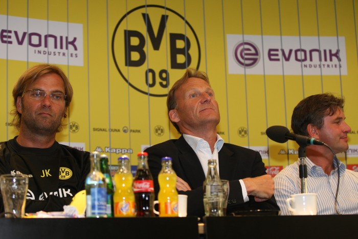 The three makers of Borussia