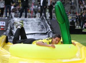 Da hatte er noch Spaß in Dortmund