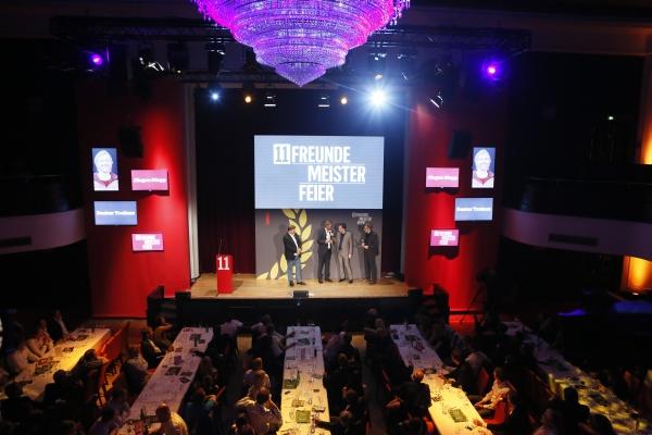 Die Meisterfeier-Preisverleihung im Hamburger Curiohaus