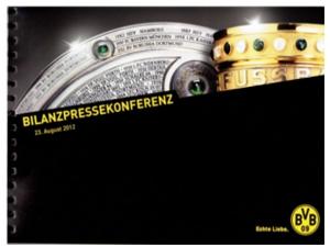 Bilanz Pressekonferenz BVB 2012