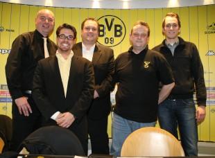 Der Vorstand der FA nach seiner letzten JHV
