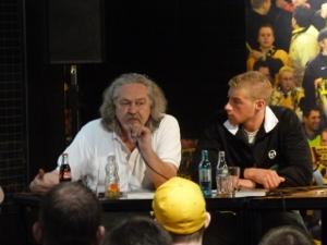 Peter Schüngel (IFG) und Oliver von TU
