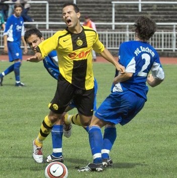 Gambino mit den Amas gegen Bochum II