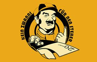 """""""Kein Zwanni""""-Logo"""
