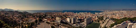 Marseille im Panorama