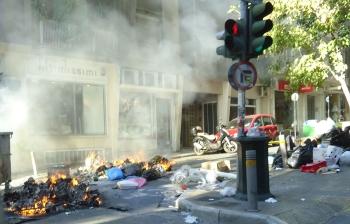 In Athen war es sehr angespannt