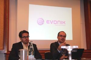 Pressegrespräch Evonik und FA