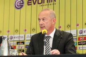 BVB Bilanz-Pressekonferenz 2010/11 - Thomas Treß
