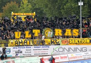 Auftritt im Preußenstadion 2012/13