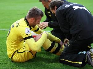 Kuba verletzt am Rand des Spielfelds in Hannover