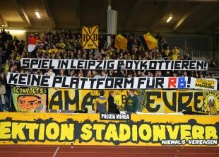 Klare Ansage der Dortmunder Ultras