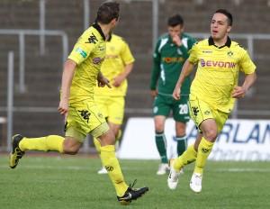 Mehmet Boztepe schoss das 2-0
