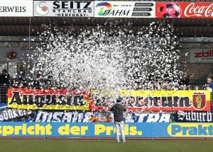 Aktion der Insane Ultras Trier