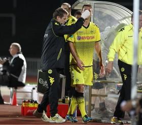 Ivan Paurevic musste verletzt raus
