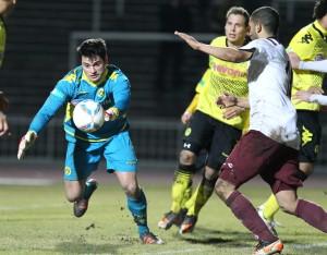 Alomerovic überzeugte trotz seinen Patzer