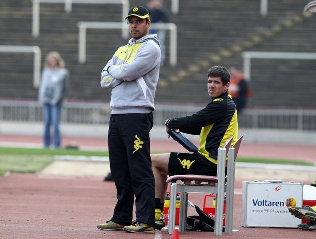 Konnte nicht zurieden sein: Trainer Wagner