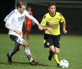 Moritz Leitner half bei den Amas aus