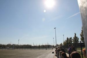 glühende Mittagshitze beim BVB U14 Spiel