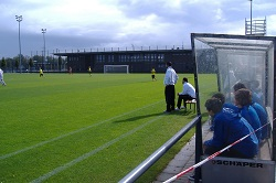 die A-Jugend des BVB gegen den Bonner SC