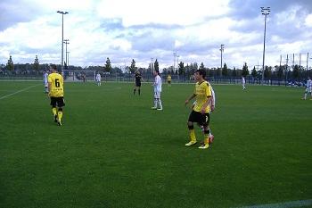 Das Spiel BVB gegen Bonner SC