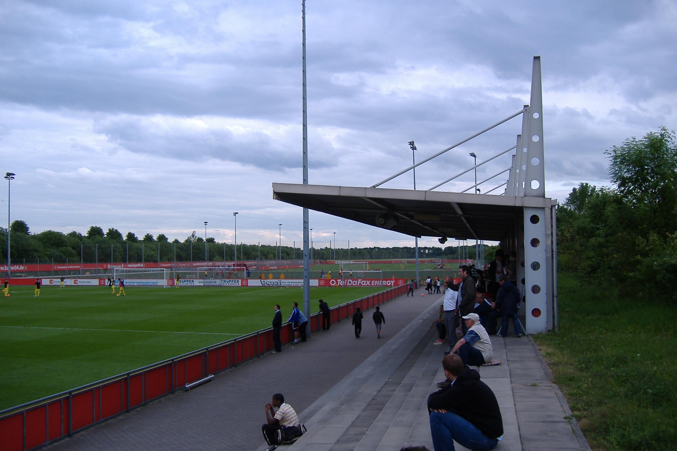 Der Platz in Leverkusen - für die Jugend