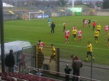 Als Sieger verlies Borussias U19 den Platz