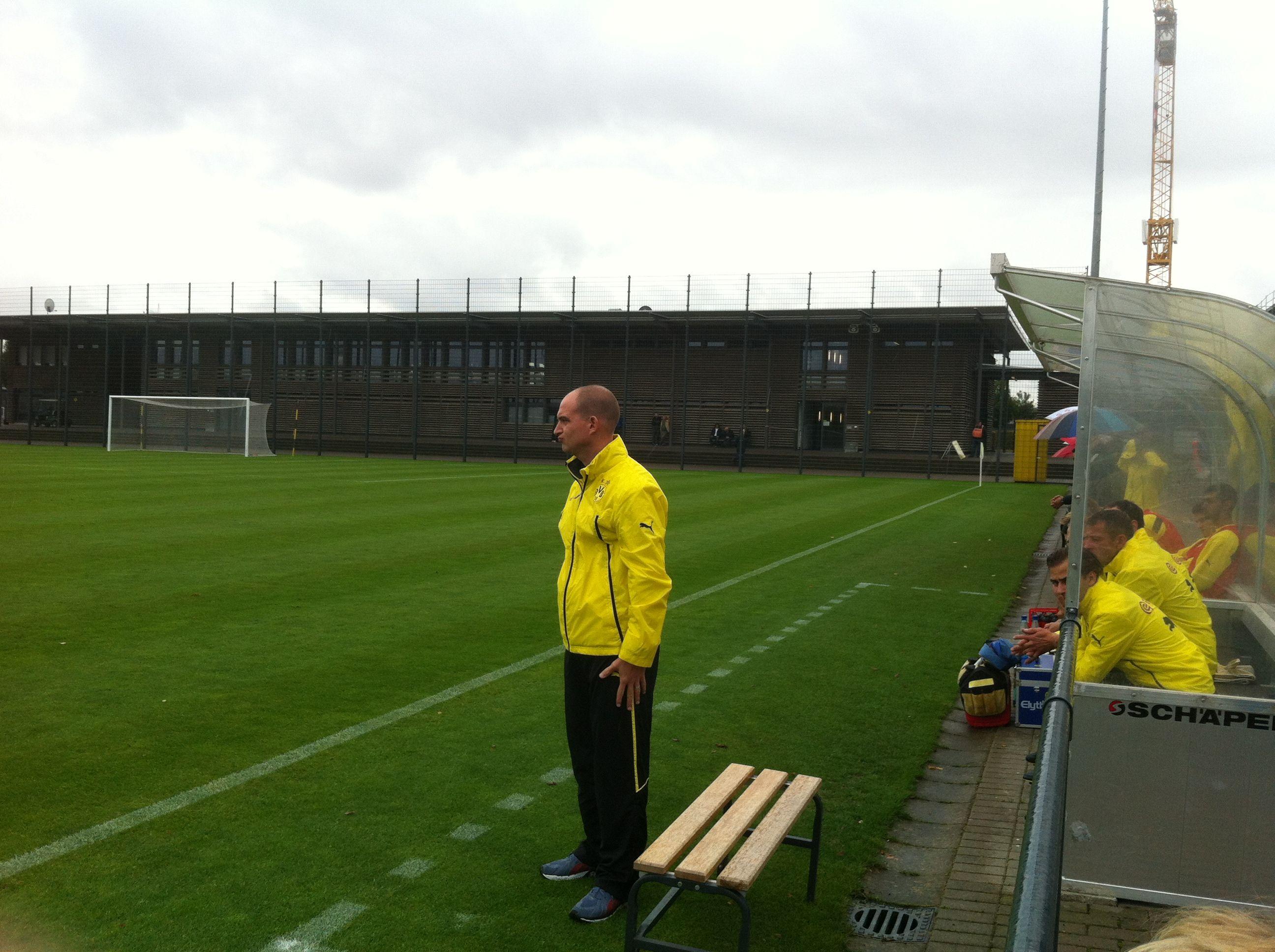 BVB-Trainer Mark Patrick Meister