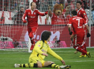 Robben scored once again