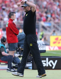 Kloppo - mildly amused after the final whistle