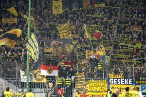 Round about 8,000 BVB supporters were in K-Town