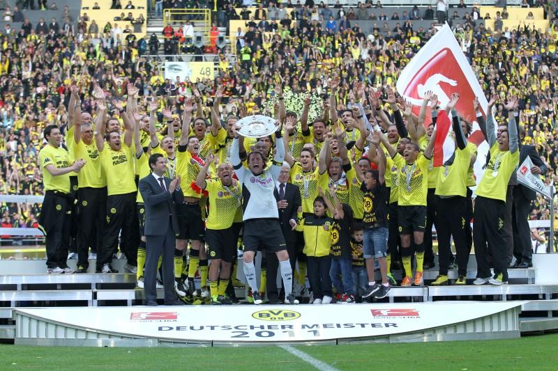 Völlig überraschend: Deutscher Meister 2011