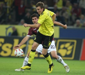 Kevin scored against Lautern on day 5