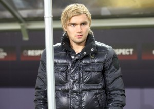 Only supporter this evening: Marcel Schmelzer