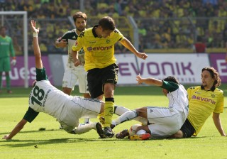 Kehl (m.) and Subotic against Diego and Co.