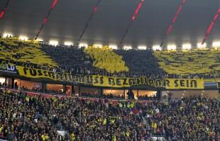 Choreo der JUBOS Dortmund im Oberrang