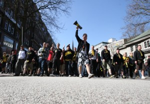 Marsch zum Hauptbahnhof