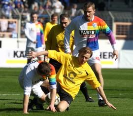 Lothar Sippel zeigte vollen Einsatz