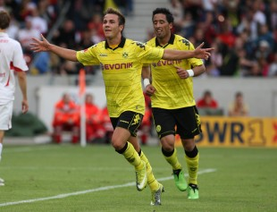 One of Dortmunds' best: Mario Goetze