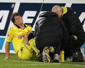 Ginczek musste verletzt raus
