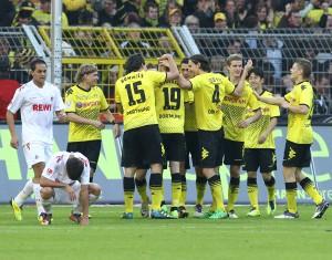Kölner Trauer ist Dortmunder Freude